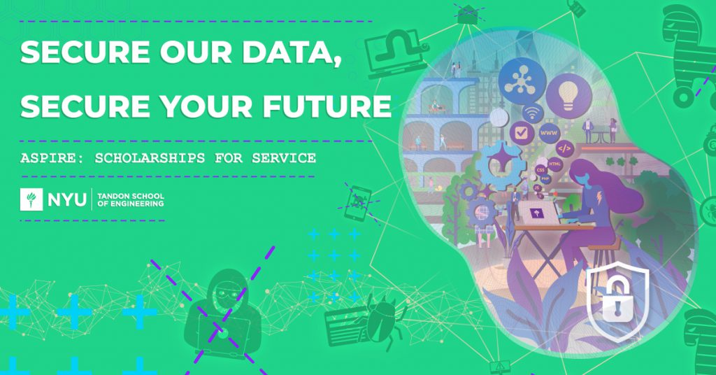 secure our data, secure your future. aspire: scholarships for service